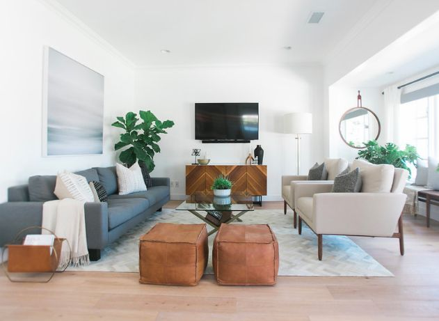 enchanting home staging small living rooms   24 Small Stools To Update Your Look   Staging Furniture ...