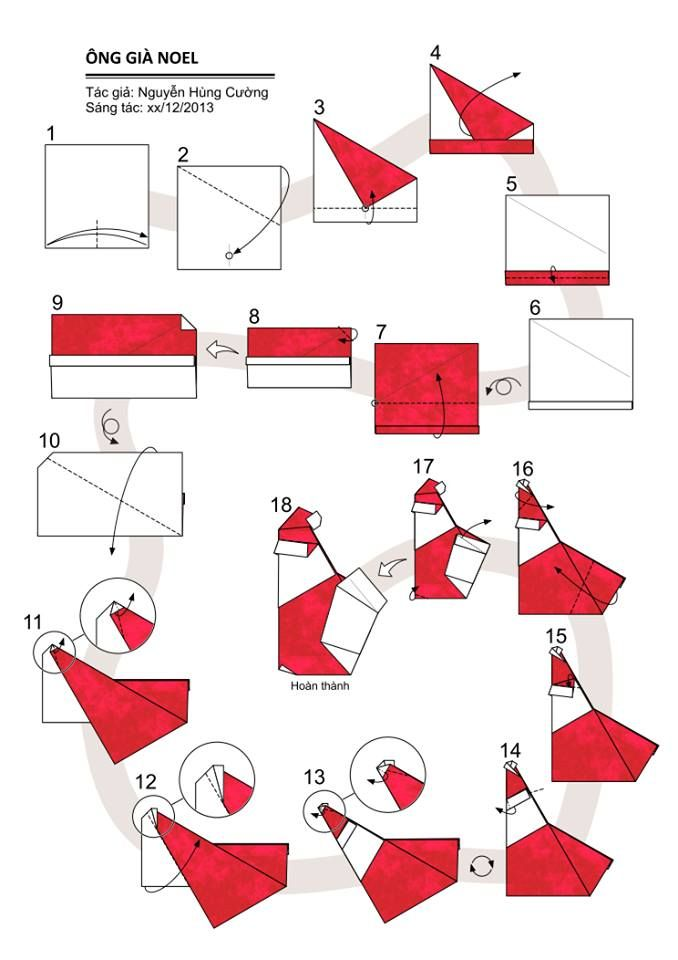 1201 best Origami christmas 1 images on Pinterest   Origami ...