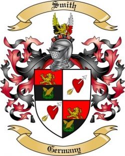 Smith Family Crest from Germany3