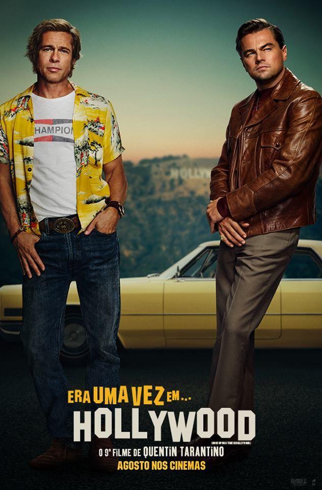 Era Uma Vez Em Hollywood Hollywood Brad Pitt Quentin Tarantino