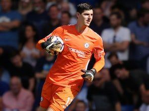 Chelsea goalkeeper Thibaut Courtois 'holds talks with Paris Saint-Germain'