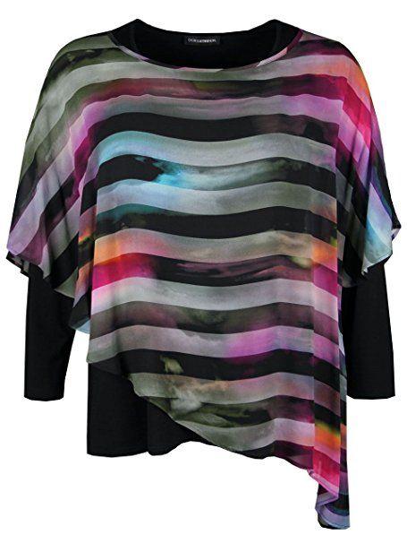 Doris Streich Damen Bluse mit Streifen-Muster: - Blusen outfit ...