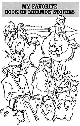 FHE Ideas Coloring Pages And LDS Primary Lesson Helps