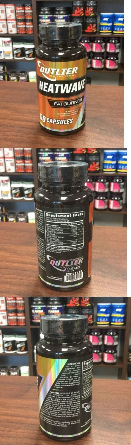Sports Diet and Weight Loss: Outlier Nutrition - Heatwave - Strongest Thermogenic Fat Burner - 60 Caps BUY IT NOW ONLY: $34.97