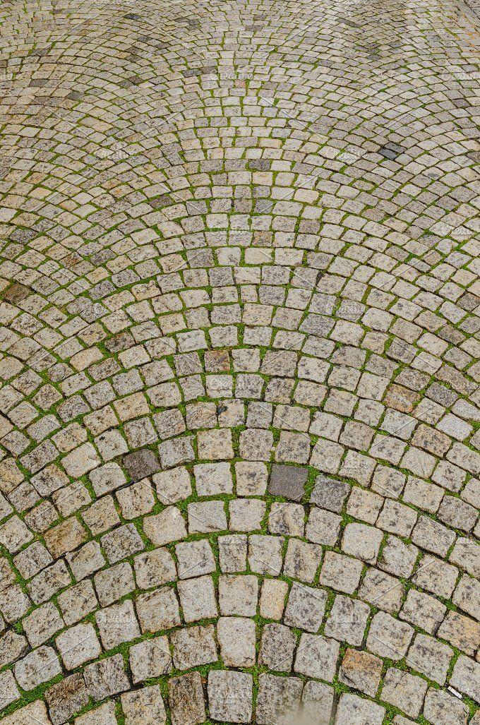 Tiled cobblestone by alfonsodetomas on @creativemarket
