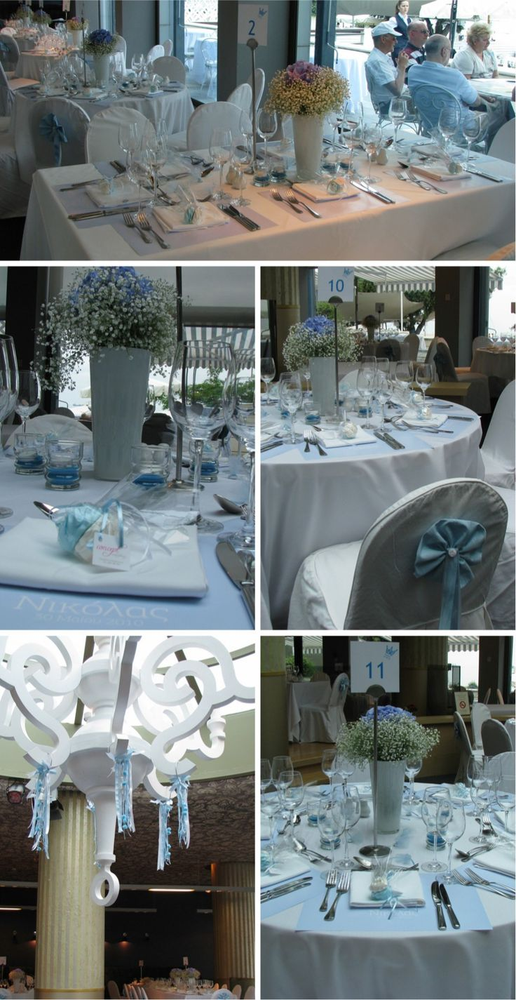 Christening reception decor + details at Makedonia Pallas in Thessaloniki, Greece by Concept Events Planning | www.concept-events.gr