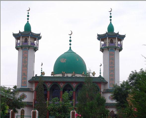 Xiguan Mosque in #Lanzhou @Муслим муслим China