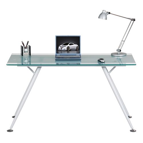22 best Glass Desks for the Home Office Study or Workplace images