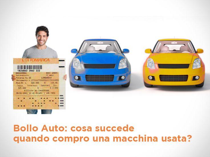 Vuoi comprare una macchina nuova, però per risparmiare scegli l'usato? Benissimo! Però occhio al bollo auto: ecco cosa devi sapere!