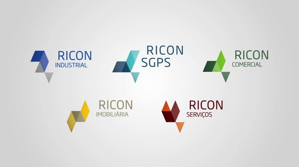 Ricon Group — Branding  Branding project developed forthe Ricon Group.The entire project was born from an elementwhich multiplies andadjusts to a pre-definedgrid.Brandandsub-brandsare possibleto combine andcreateaunique and originalcomposition.
