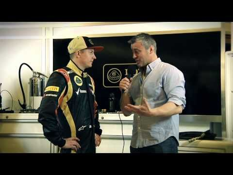 Kimi you're such a bad actor :D When Kimi Raikkonen met Matt LeBlanc...