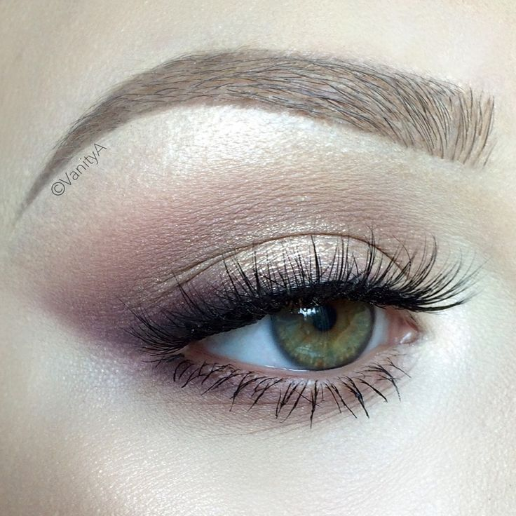 Natural wedding makeup looks for brown eyes