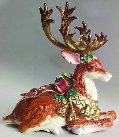 85 best Fitz and Floyd images on Pinterest | Figurine, Reindeer ...