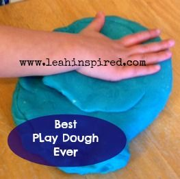 Leah Inspired: The Best Homemade Play Dough Recipe!