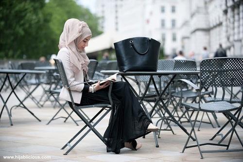 Islamic Fashion- a day in town