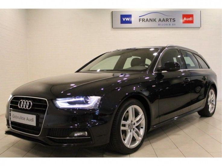 Audi A4  Description: Audi A4 Avant 1.8 TFSI S-EDITION 120pk H6 (Autom.airco2x S-lineRadio Navigatie MMIXenonPdcTrekhaakAlarm)  Price: 360.01  Meer informatie