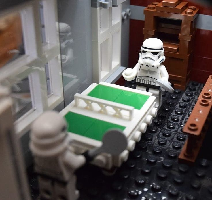 Killing time on the death star! Anyone up for a game of ping pong table tennis?  Repost from @tlphotovideo -  Ping Pong break on the Death Star #starwars #starwarslego #legogram #legostarwars #legostagram #brickpix #brickstagram #bricknetwork #brickpix #legophotography #stormtrooper #stormtrooperlife #minifig #minifigures #pingpong #imperialentanglements #galacticempire #empiredidnothingwrong #afol  #imperialpong #toyartistry #toypix #bestswproductpics #brickpichub