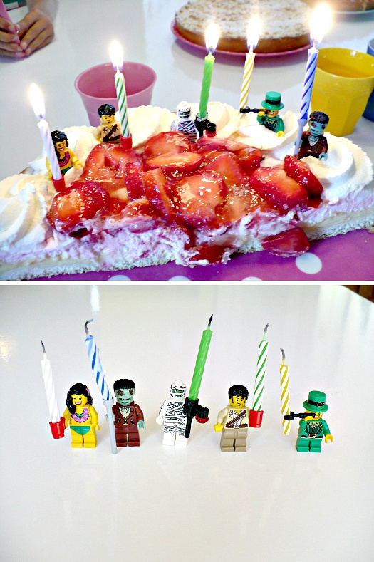 My version | lego | candleholders