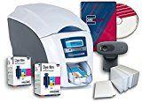 #9: Magicard Enduro 3e Dual Side ID Card Printer & Supplies Bundle with Card Imaging Software (3633-3021)