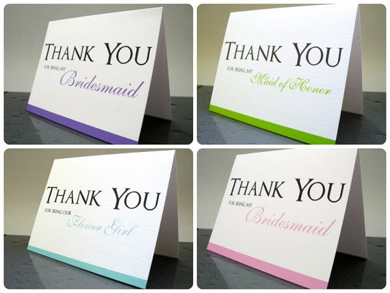 Thank You for Being My Bridesmaid Maid of Honor by TheWhiteInvite, $20.00