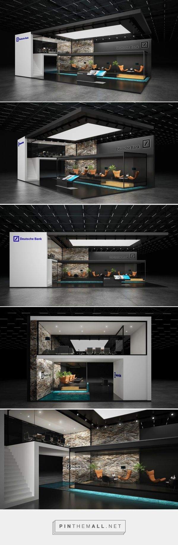 * Deutsche bank *exhibition stand * on Behance - created on 2016-10-20 12:32:30