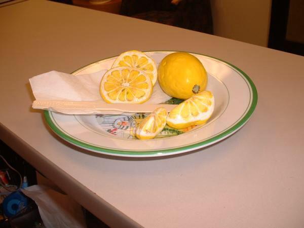 Lemon rocks
