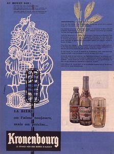 Bière Kronenbourg, 1957 -