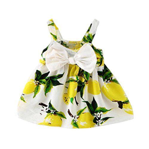 K-youth® Vestido de Niña Floral Bowknot Vestido de la honda Princesa Vestido Bautizo Bebé Niñas Vestidos de Sin Manga Primavera Verano Ropa para 0-24 meses (Amarillo, 18-24 meses) #youth® #Vestido #Niña #Floral #Bowknot #honda #Princesa #Bautizo #Bebé #Niñas #Vestidos #Manga #Primavera #Verano #Ropa #para #meses #(Amarillo, #meses)