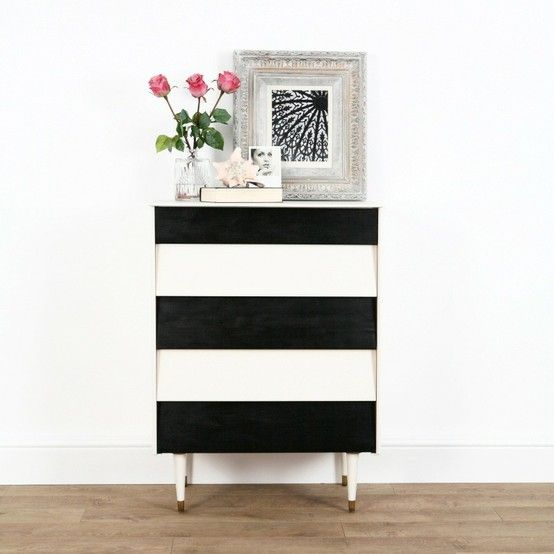 The 25+ Best Striped Furniture Ideas On Pinterest | Striped Dresser, Black  Outdoor Furniture And Garden Chair Cushions