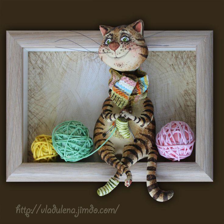 Полосато-вязаное