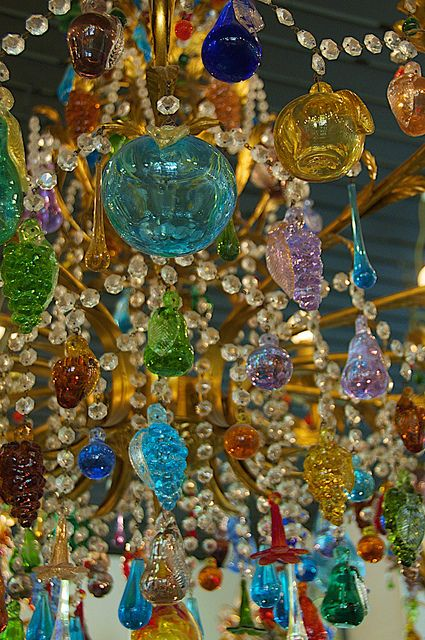Murano in Venice has been known for the beautiful glass works for centuries. I agree!