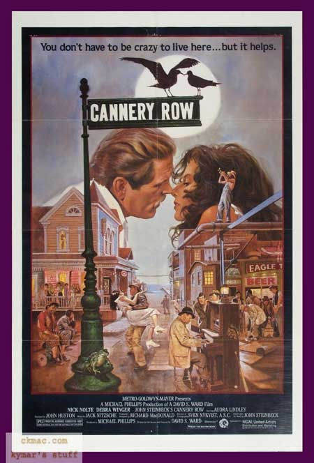 cannery row essay Free and custom essays at essaypediacom take a look at written paper - argumentative essay on steinbeck's cannery row.