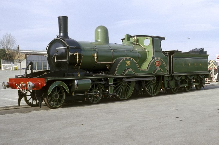 Locomotive 563, London & South Western Railway, The National Railway Museum, Shildon