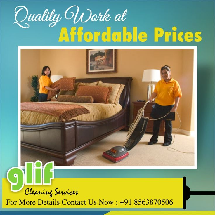 Quality Work at Affordable Prices... http://www.glifservices.in/ #Home #Cleaning #services