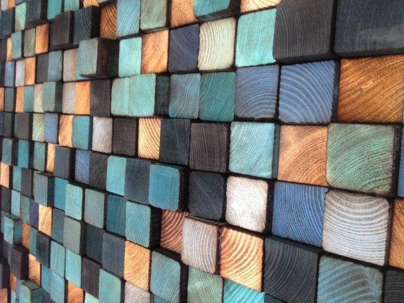 Wooden Wall Sculpture - Rustic Wall Art