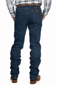 Wrangler Premium Performance Advanced Comfort Cowboy Cut Mid Stonewash Jeans- Regular Fit | Cavender's