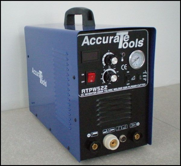 BRAND NEW 3in1 50A PLASMA CUTTER 200 AMP TIG STICK/ARC WELDER #AccurateTools