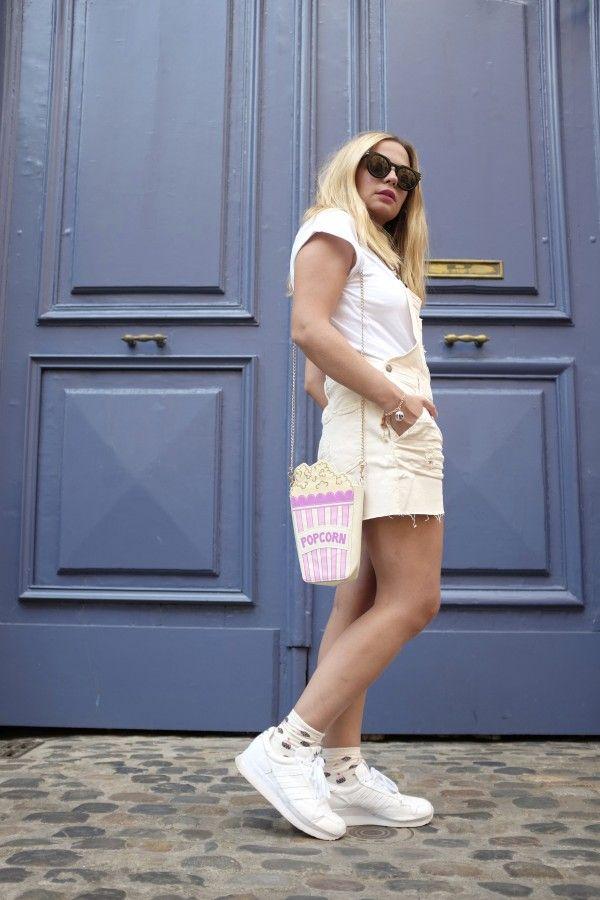 Salopette en denim KAYDEN Cimarron jeans - Dungaree - Peto - #oiseaudeparis #fashionblogger #outfitshare #blogger #denim #jeans #look #cimarronjeans #cimarronparis #summer