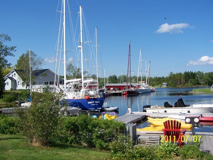 Baddeck, Cape Breton Island, Nova Scotia Canada. Nana and Papa Stacey honeymooned here at the Telegraph Inn..