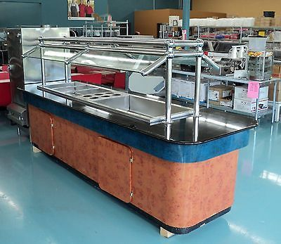 Steam Table Buffet Table Amp Salad Bar W Sneeze Guard