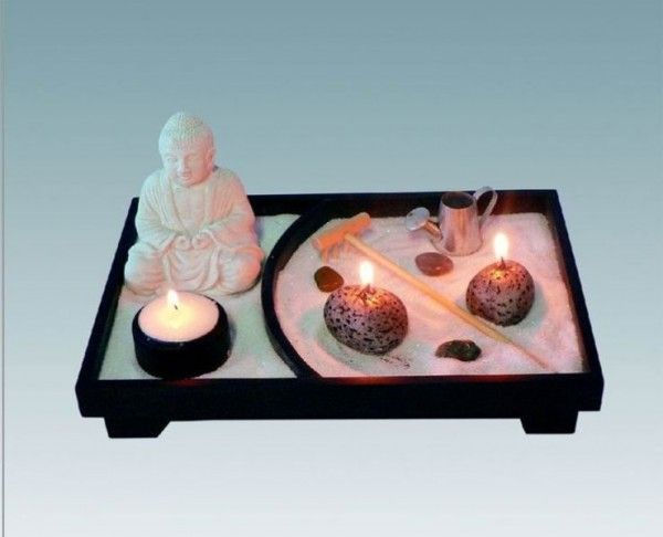 M s de 25 ideas fant sticas sobre jardines en miniatura en - Hacer jardin zen ...