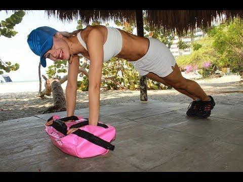 ▶ Beach Body Sandbag Workout - Full Exercise - YouTube