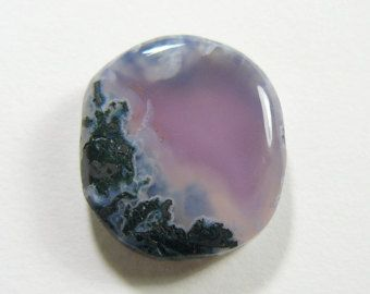 Rare East Java Purple Chalcedony Designer Cabochon, new find