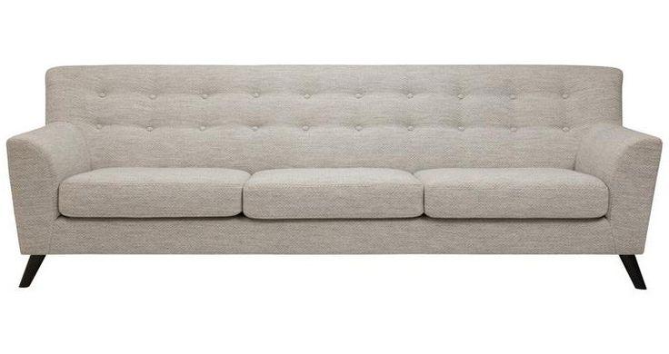 Peta Fabric 3 Seater Sofa from The Furniture Room