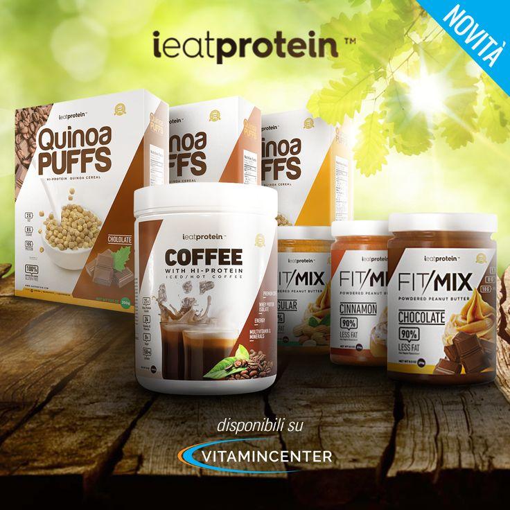 #iEatProtein ha realizzato una linea di prodotti #fitness di eccellenza per la colazione, snack e spuntini ad alto contenuto di proteine, senza zuccheri e disponibili in vari gusti super golosi: cioccolato, cannella, crema di arachidi. Voi quale preferite?