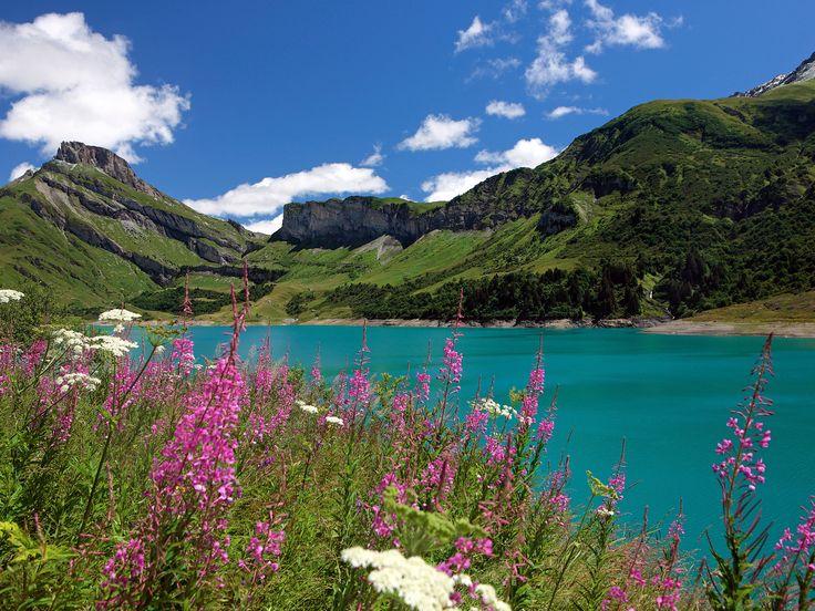Dans les cols des Alpes à vélo : Geo.fr