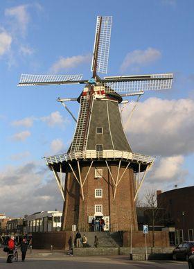 Flour mill Adam, Delfzijl, the Netherlands