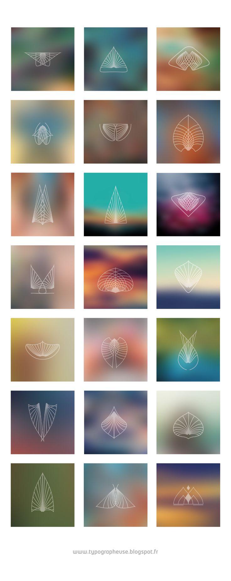 20 Minimalist Geometric Walpapers http://typographeuse.blogspot.fr/2017/06/20-minimalist-geometric-walpapers.html album, blur, chillout, design graphic, feuille; lotus, fleur, geomas, geometric, glyphs, icon, minimaliste, plume, poetic, symbol, tattoo, zen, chillout, album cover
