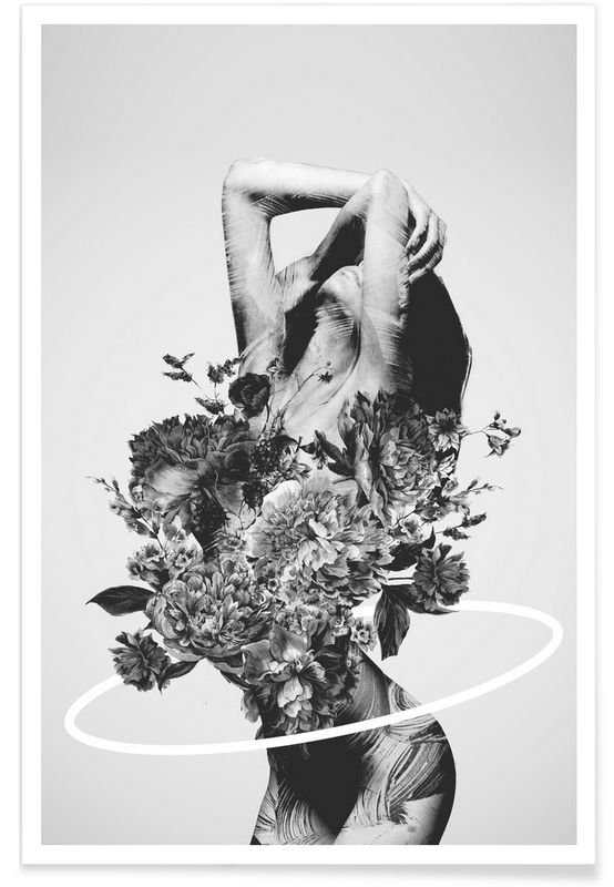 Be Slowly als Premium Poster von Dániel Taylor   JUNIQE