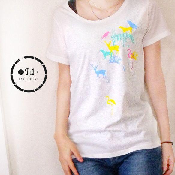 オリジナルデザインのTシャツです。素材:天竺(綿50%/ポリエステル50%)生地厚:4.0ozカラー:ホワイトMサイズ(女性用)身丈 64cm身幅 44cm袖...|ハンドメイド、手作り、手仕事品の通販・販売・購入ならCreema。